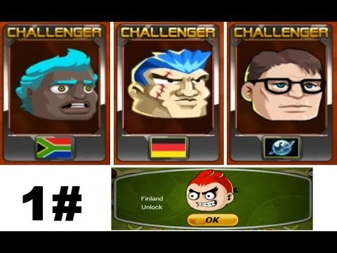 Head Soccer - How to Unlock Finland 1# (9/30)