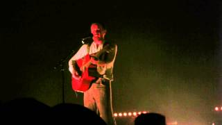 Damien Rice first live performance of It Takes a Lot to Know a Man