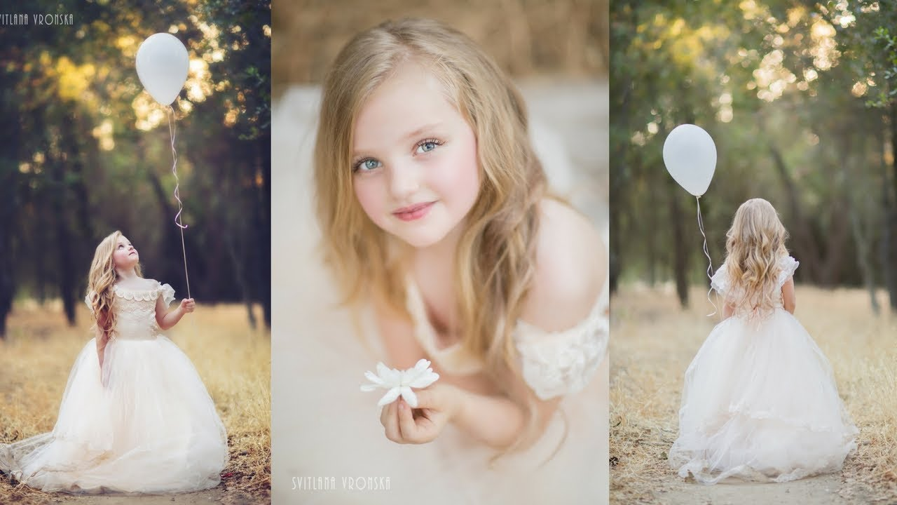 Amazing Creative Portraits Photoshoot With Beautiful Little Princesses Kids Photography
