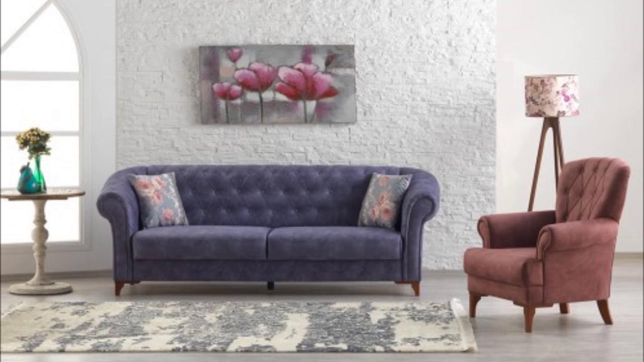 Çetmen mobilya salon koltuk takımı - youtube