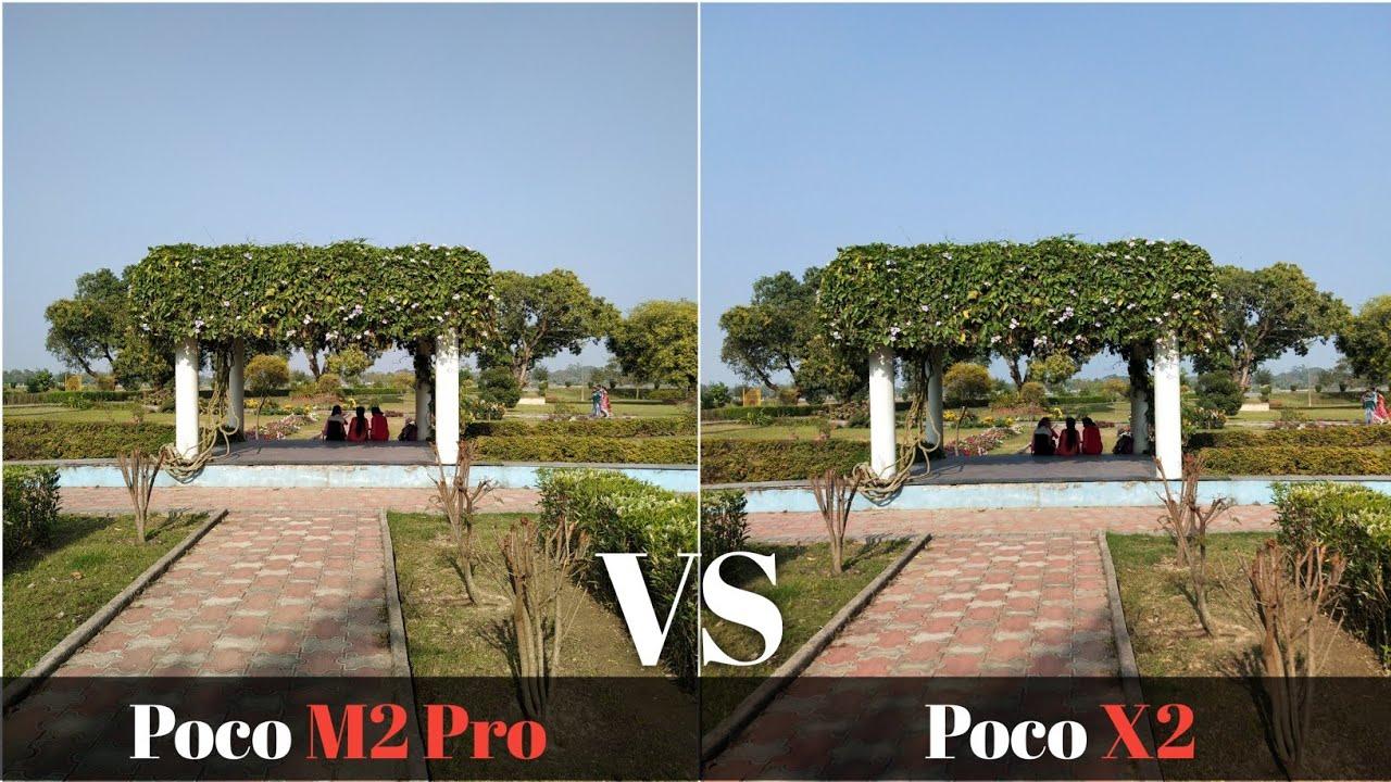 Poco M2 Pro vs Poco X2 Camera Test Comparison