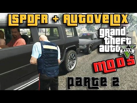 GTA 5 MOD ITA - LSPDFR CARABINIERI E AUTOVELOX PARTE 2 - GTA 5 MODS GAMEPLAY ITA