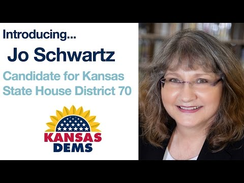 Introducing Jo Schwartz Video I Candidate for House District 70 I Kansas Democratic Party