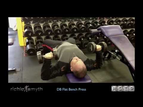 Proper Form Series Dumbbell Flat Bench Press Youtube
