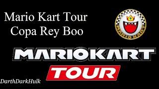 Mario Kart Tour [Copa Rey Boo] (Gameplay sin comentar).- DarthDarkHulk