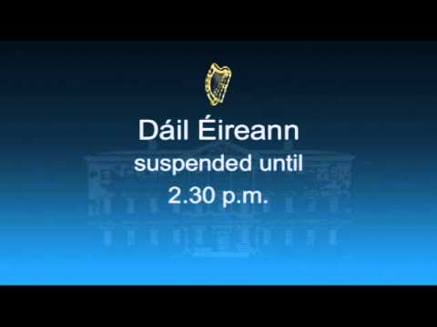 Proceeding of the House of the Oireachtas