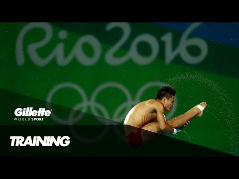 Diving Training with Team China | Gillette World Sport