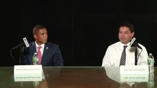 Lunch with the Candidates: Aundre Bumgardner and Joe de la Cruz thumbnail