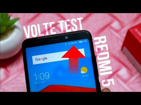 Redmi 5 Jio VOLTE Test,Video Call Test |Hindi|