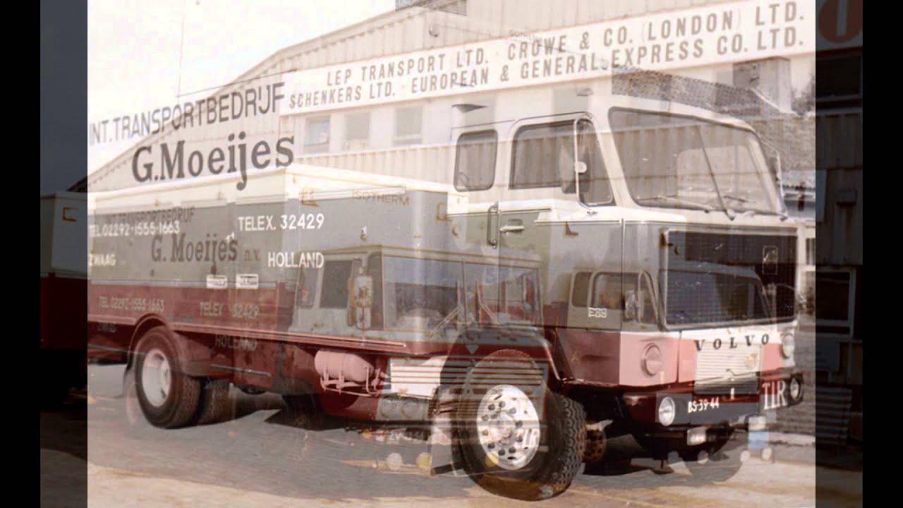 Moeijes Int. Transport, sinds 1917. Een chronologisch overzicht vanaf 1936 tot heden.