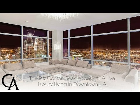 Luxury Home for Sale | Ritz Carlton Residences in Downtown Los Angeles | #DTLA