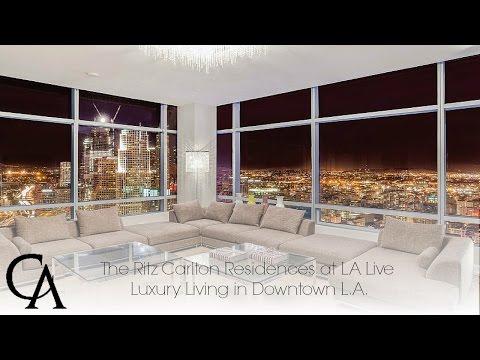 Luxury Home for Sale | Ritz Carlton Residences in Downtown Los Angeles | #DTLA