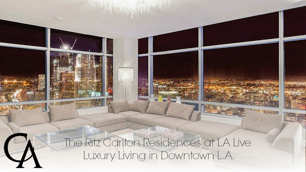 Luxury Home For Sale | Ritz Carlton Residences In Downtown Los Angeles |  #DTLA   YouTube