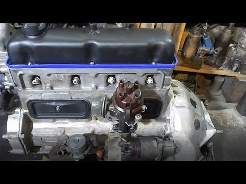 Сборка двигателя для ГАЗ 21