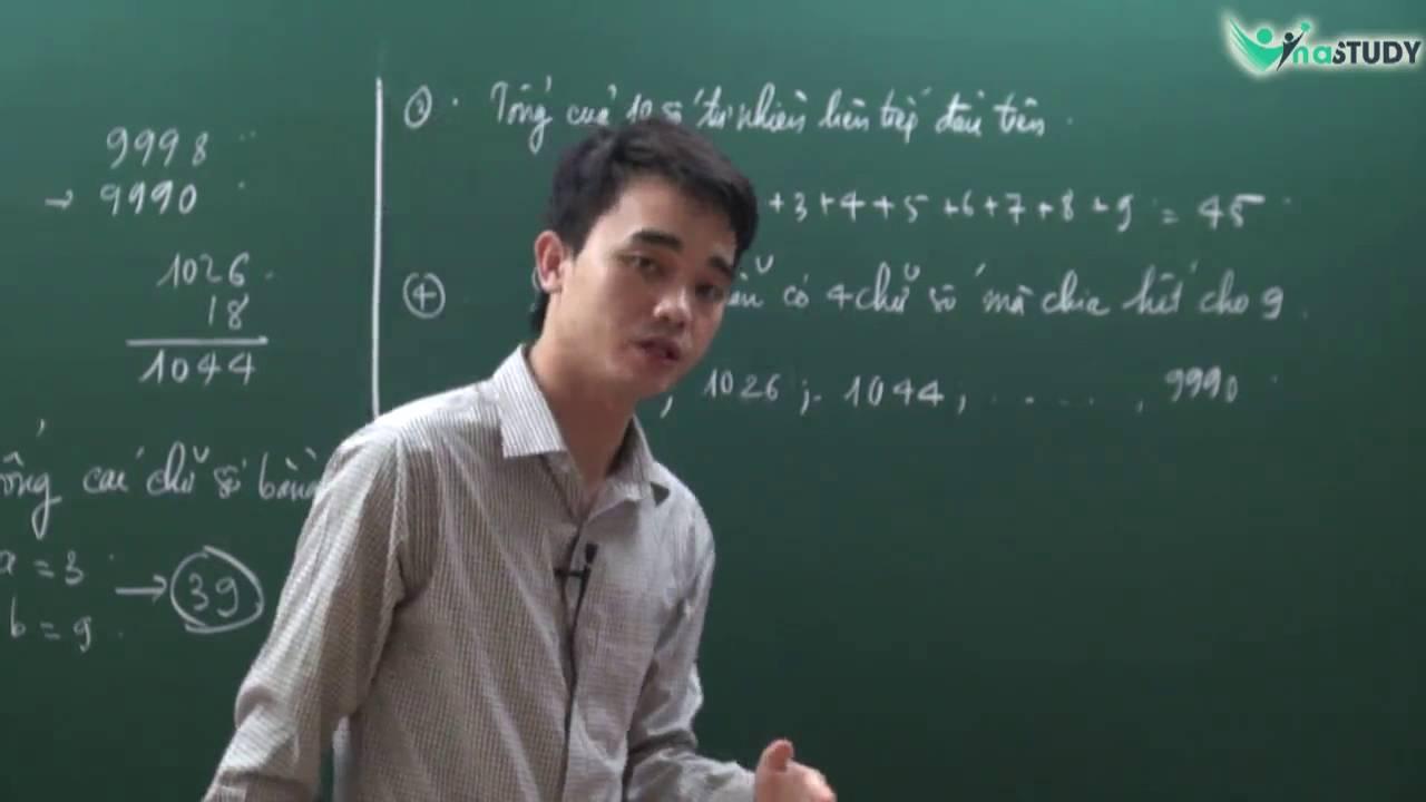 Giải chi tiết đề ViOlympic toán lớp 5 vòng 1 – thầy Nguyễn Thành Long