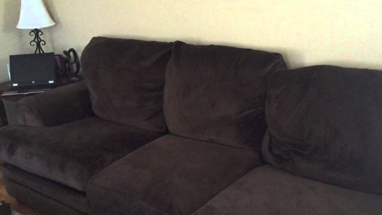 Buchannan Microfiber Sofa Review Leather Bed Queen Reviews Ashley Furniture Hodan Marble ...