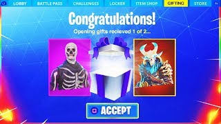 * NEU * FORTNITE GIFTING SYSTEM RELEASE DATE! - GIFTING SYSTEM In SEASON 5 (Wie man Skins Fortnite