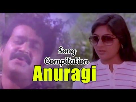 Anuragi - Song Compilation - Starring Mohanlal, Urvashi, Ramya Krishnan