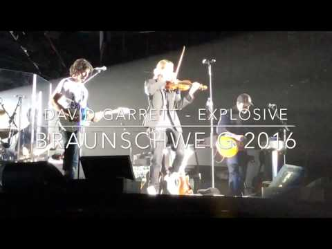 David Garrett - Explosive - Braunschweig 2016 - Moments