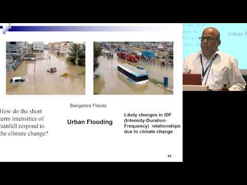 ILSI India: Modeling Climate Change Impacts On Regional Water Resources (P.P. Mujumdar)