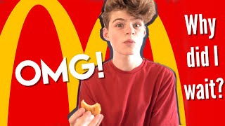 FIRST TIME TRYING MCDOΝALDS **TRUE REACTION**