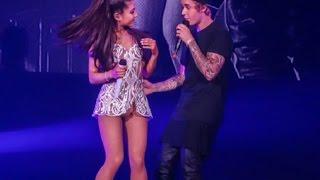 Justin Bieber Se Le Olvida La Cancion, Justin Olvida La Letra, Justin y Ariana Grande Honeymoon Tour
