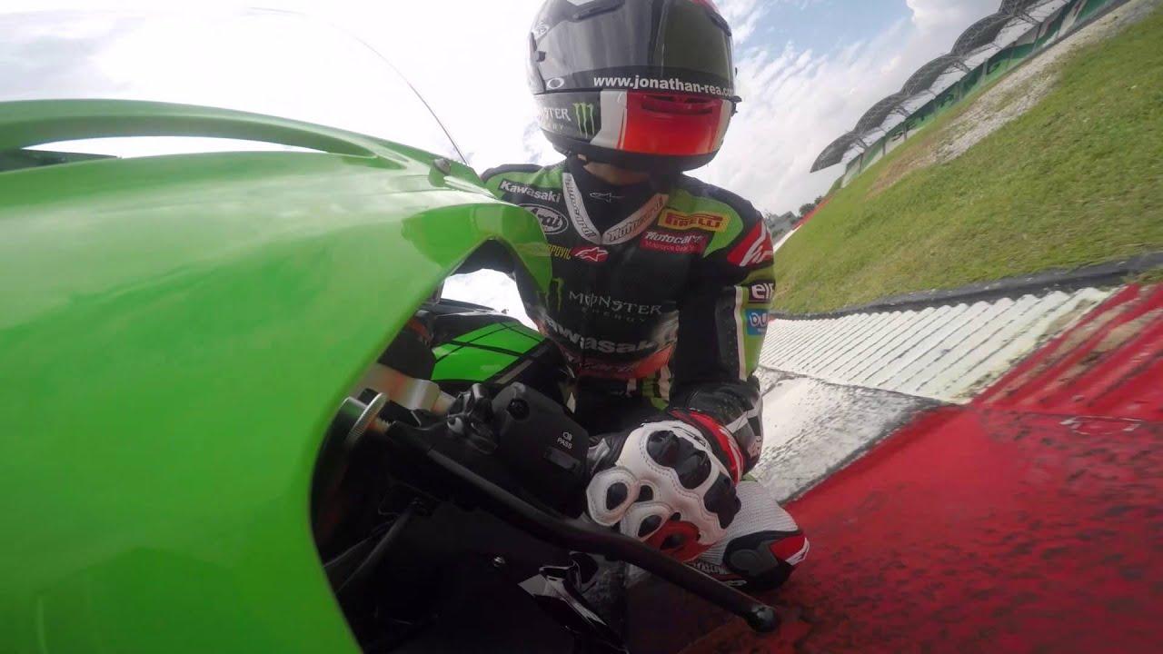 2016 Ninja Zx 10r Race Kit Parts And On Board Lap Sepang Youtube