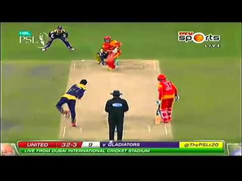 Mohammad Nawaz clean Bowled Sam billings and shane watson in psl t20 2016