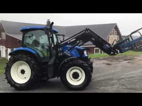 Köp Traktor New Holland 6 140 på klaravik se
