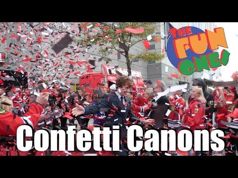 Confetti Cannon Rentals Chicago, Schaumburg, Naperville, Wheaton