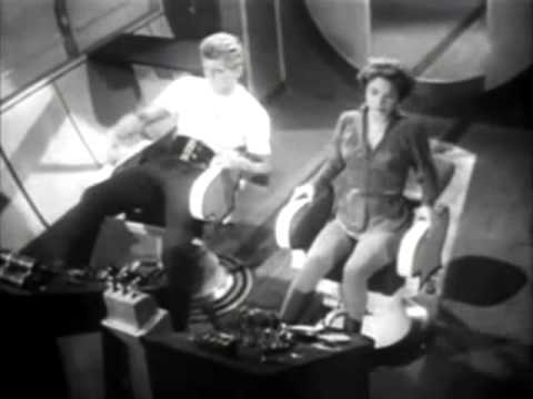 Flash Gordon 1954 - 1955 Opening and Closing Theme (With Snippets)