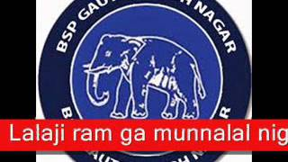 Patna Jhanda Fahrai Ke Rahi : Bahujan Samaj Party (BSP) - Motivational Song Mp3 - Election Time!