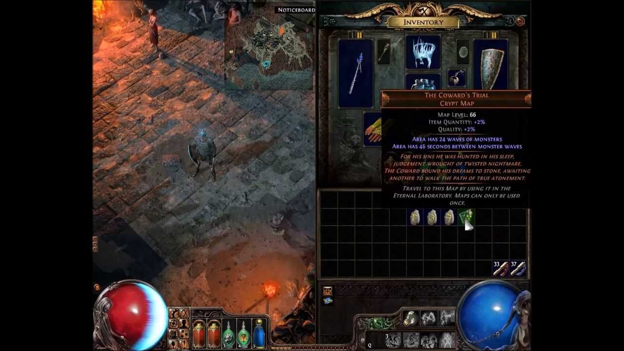 Path Of Exile Cartographer S Chisel Youtube