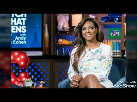 Kenya Moore's baby bump revealed   Wedding special to come?