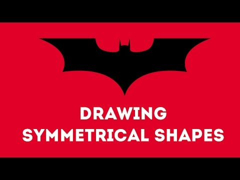 Drawing Symmetrical Shapes in Illustrator