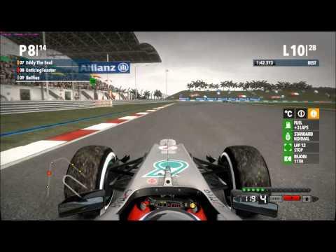 RD Non-Pro Ch'ship - Round 2 Malaysia (F1 2012 PC)