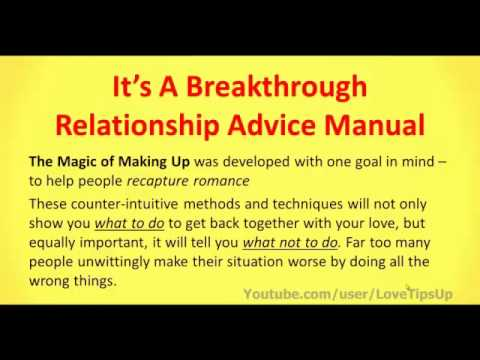 tips on relationship problems
