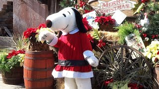Knott's Merry Farm 2017 Christmas season event highlights at Knott's Berry Farm