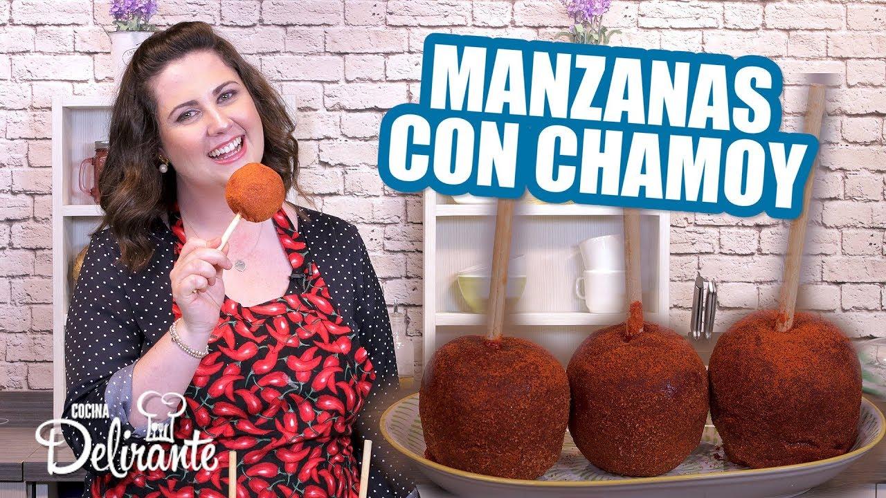 Manzanas cubiertas con chamoy   Hasta la Cocina   Cocina Delirante - YouTube