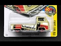 Lamley Showcase: 2017 Hot Wheels Volkswagen T2 Pickup