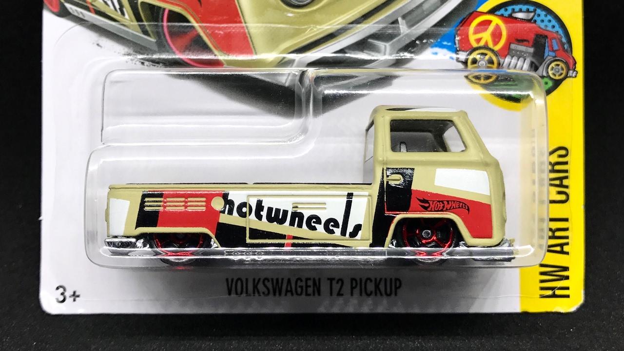 lamley showcase 2017 hot wheels volkswagen t2 pickup. Black Bedroom Furniture Sets. Home Design Ideas