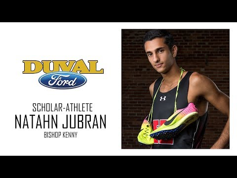 Duval Ford Scholar-Athlete Nathan Jubran Bishop Kenny High School