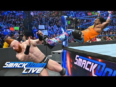 Hardy Boyz, Ricochet & Black vs. The Bar, Nakamura & Rusev: SmackDown LIVE, Mar. 12, 2019