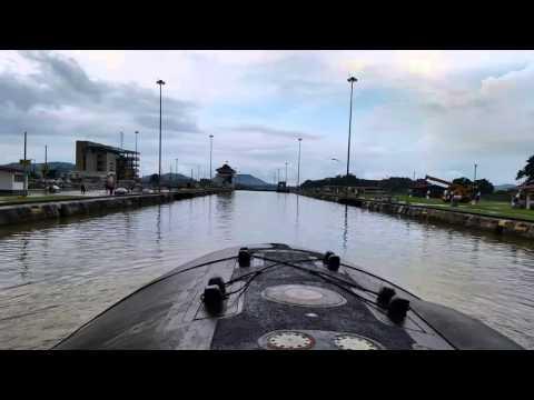 Submarine trip through the Panama Canal