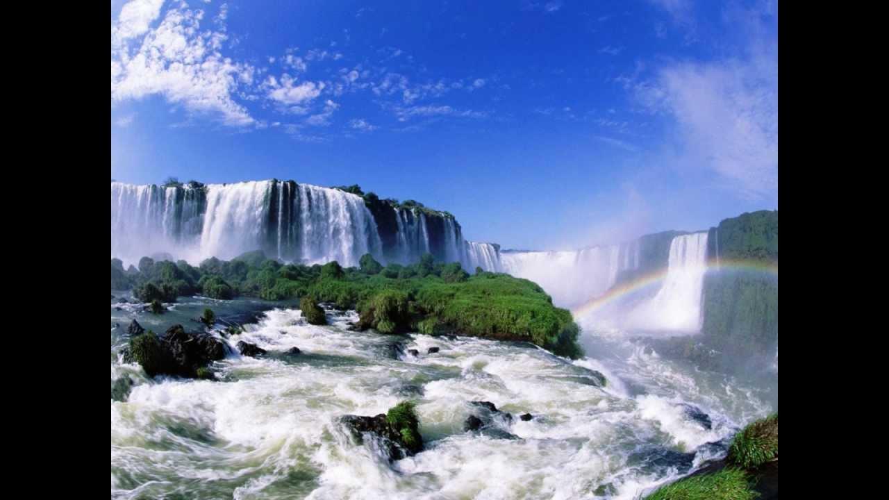 Desktop Wallpaper Fall Water Ricardo Rodriguez Alla En El Monte De Horeb Youtube