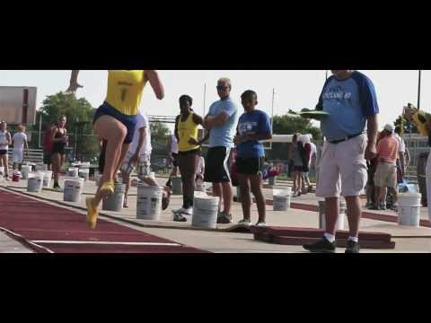 2013 Cornhusker State Games - Track and Field [Official Video]