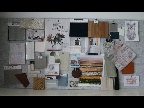 how to create a mood board like an interior designer youtube. Black Bedroom Furniture Sets. Home Design Ideas