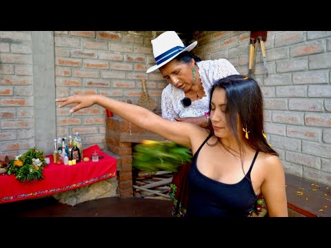 Relaxing Soft Spoken ASMR Head & Foot Massage, Neck Cracking, Spiritual Cleansing (Limpia) Doña Rosa