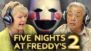 Elders Play Five Nights at Freddy