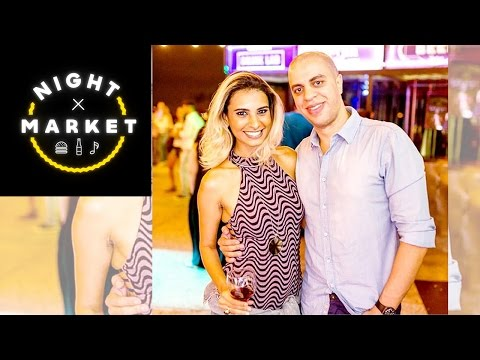 Cissa Santos no Night Market BH